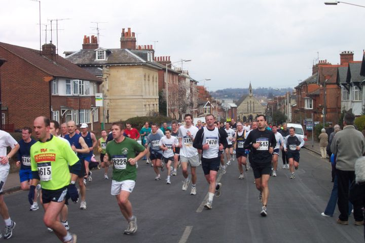 Reading Half-Marathon Road Closures 2018